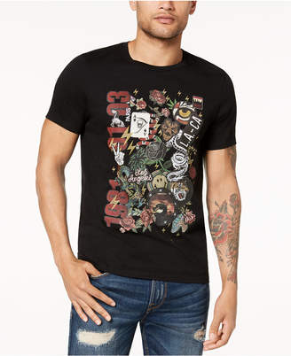 GUESS Men's Collage Graphic T-Shirt