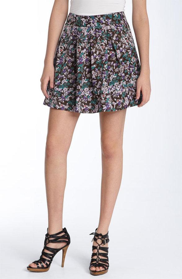 Hinge® Printed Cotton Skirt