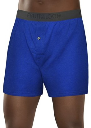 Fruit of the Loom Men's Breathable Cooling Micro-Mesh Knit Boxer, 1 Pack