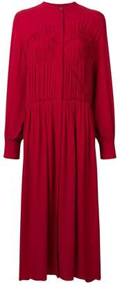 Joseph long pleated dress