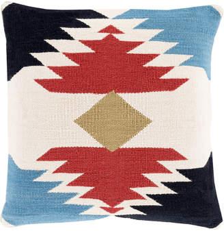 Surya Cotton Kilim Throw Pillow