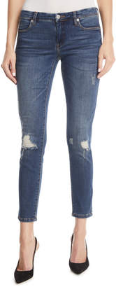 Blank NYC Great Escape Mid-Rise Distressed Skinny Jeans