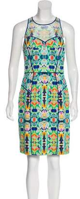 Milly Sleeveless Floral Dress