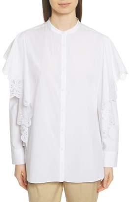 Robert Rodriguez Layered Lace Shirt