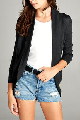 Active Basic Cocoon Cardigan Sweater $19.99 thestylecure.com