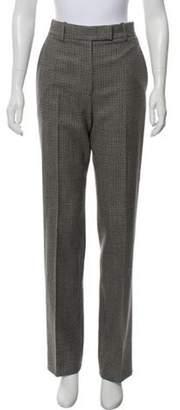 Calvin Klein Wool High-Rise Pants Grey Wool High-Rise Pants