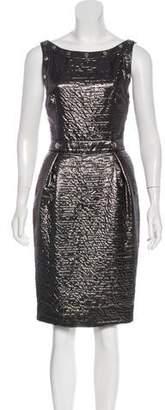 Dolce & Gabbana Metallic Studded Dress