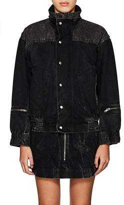 Givenchy Women's Denim Oversized Jacket