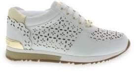 Michael Kors Girl's Allie Laser Sneaker