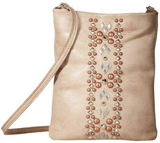 Leather Rock Leather Studded Bag
