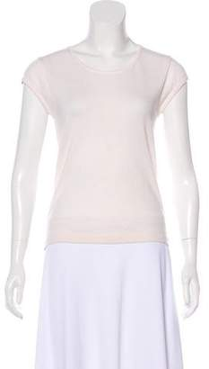 Iris von Arnim Short Sleeve Cashmere Top