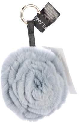 Adrienne Landau Fur Bag Charm