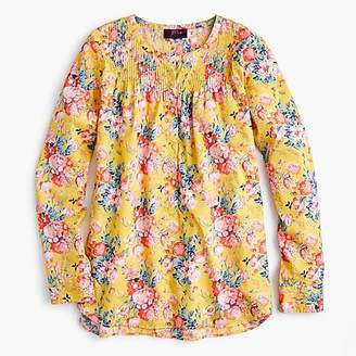 J.Crew Petite classic popover shirt in Liberty® magical bouquet