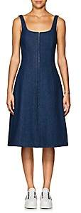 CFGOLDMAN Women's Denim Corset Dress-Blue