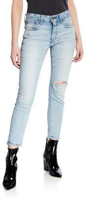 Moussy VINTAGE Vivian Mid-Rise Skinny Jeans