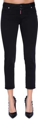 DSQUARED2 Twiggy Mid Rise Denim Jeans
