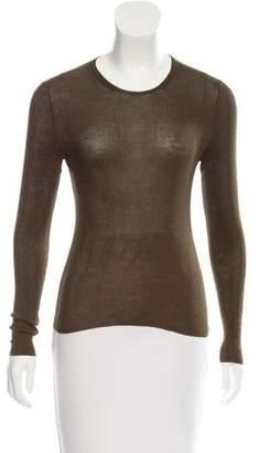 Gucci Silk Crew Neck Sweater
