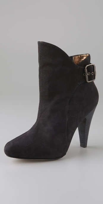 Twelfth St. By Cynthia Vincent Korina Booties with Hidden Platform