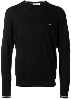 Sun 68 round neck jumper