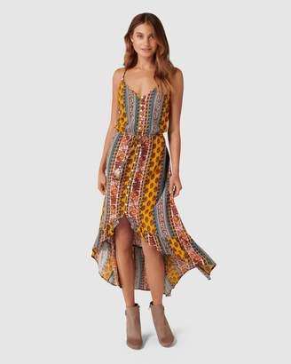 Band of Gypsies Natalie Stripe Dress