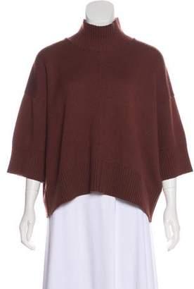 eskandar Wool Short Sleeve Sweater