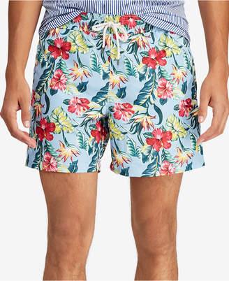 """Polo Ralph Lauren Men's 5-1/2"""" Traveler Swim Trunks"""