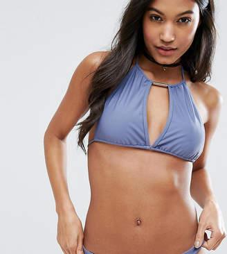South Beach Mix & Match Halter Bikini Top