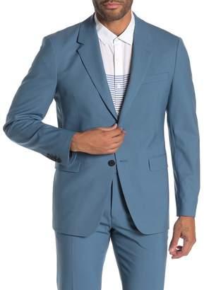 Theory Chambers Slim Fit Stretch Wool Blazer