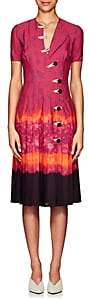 Altuzarra Women's Ilari Tie-Dyed Dress - Ceramic Red