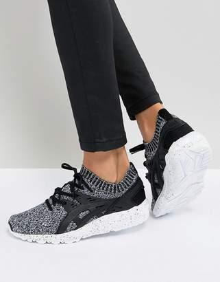 Asics Gel-Kayano Sneaker Knit Sneakers In Gray Print
