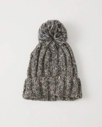 Abercrombie & Fitch Pom Knit Beanie
