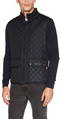 Belstaff Men's Waistcoat Quilted Man Jacket,(Manufacturer Size: 50)