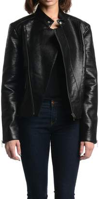 Tart Collections Black Leather Jacket