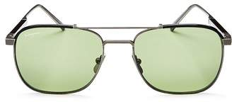 Salvatore Ferragamo Men's Brow Bar Square Sunglasses, 56mm