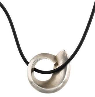 Tiffany & Co. Fish Pendant Necklace