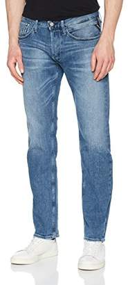 Replay Men's Newbill Straight Jeans, (Light Blue 10), W30/L30 (Size: 30)