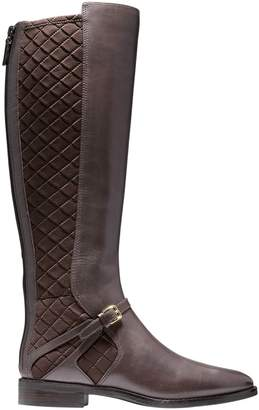 Cole Haan Riding Style Two Tone Boots