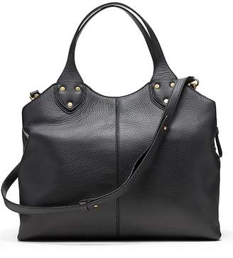 Banana Republic Italian Leather Carryall Bag