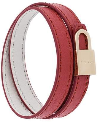 Buscemi double lock bracelet