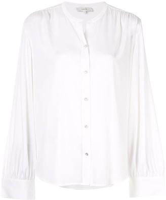 Vince shirred back blouse
