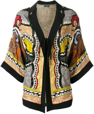 Etro belted kimono jacket