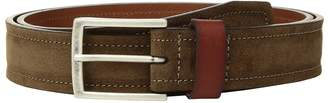Johnston & Murphy Suede Leather Loop Belt Men's Belts
