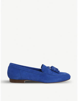 Office Retro suede tassel loafers