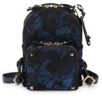 Valentino Butterfly Zip Backpack