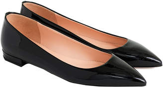 J.Crew Pointed Toe Leather Flat