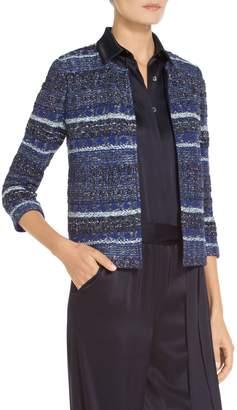 St. John Eva Tweed Knit Jacket