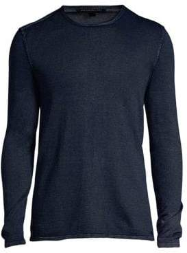 John Varvatos Cotton Crewneck Pullover