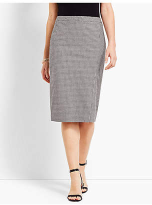 Talbots Pencil Skirt - Gingham