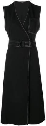 Joseph belted dress