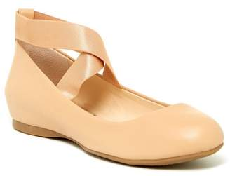 Jessica Simpson Mandayss Ankle Strap Ballet Flat - Wide Width Available